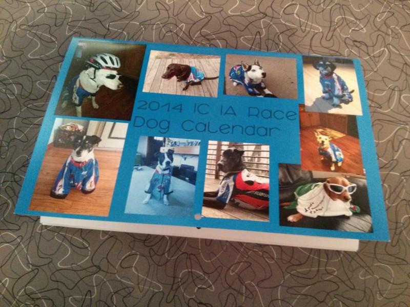 2014 IC IA Race Dog Calendar